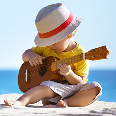 kaleido insieme io suono l'ukulele